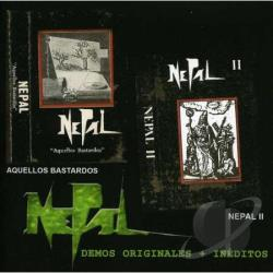 Nepal - Demos Originales Ineditos CD Cover Art