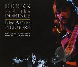 Derek & The Dominos - Live at the Fillmore CD Cover Art