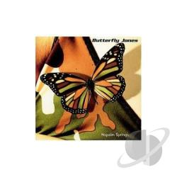 Jones, Butterfly - Napalm Springs CD Cover Art