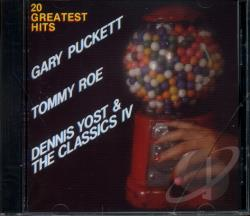 Puckett, Gary / Roe / Various Artists / Yost - 20 Greatest Hits CD Cover Art