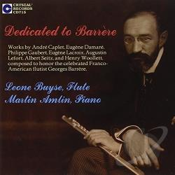 Amlin / Buyse / Caplet / Woollett - Dedicated to Barrere CD Cover Art