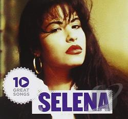 Selena - 10 Great Songs CD Cover Art
