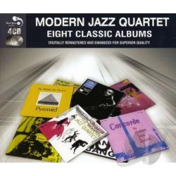 Modern Jazz Quartet - Eight Classic Albums CD Cover Art