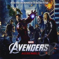 Avengers Assemble CD Cover Art