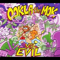 Ookla the Mok - Vs Evil CD Cover Art