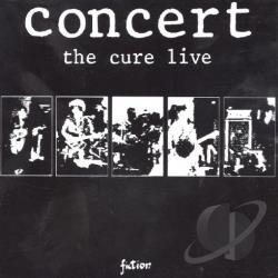 Cure - Concert: The Cure Live CD Cover Art