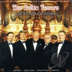 Baltic Tenors - Baltic Tenors Live at Riga Cathedral CD Cover Art