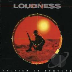 Loudness - Soldier of Fortune CD Cover Art