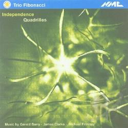 Barry / Clarke / Fibonacci Trio / Finnissy - In The Asylum / Piano Trio / In Stiller Nacht CD Cover Art