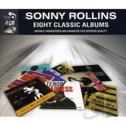Rollins, Sonny - Eight Classic Albums CD Cover Art