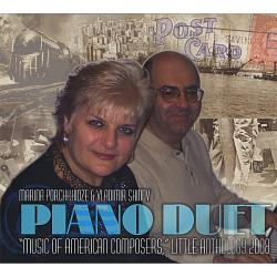 Piano Duet Marina Porchkhidze & Vladimir Shinov - Music Of American Composers For Piano Duet CD Cover Art