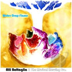 Alli Battaglia - Water Drop Flame CD Cover Art