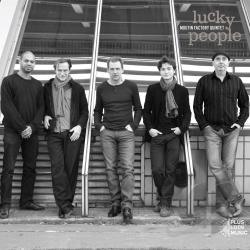 Moutin Factory Quintet - Lucky People CD Cover Art