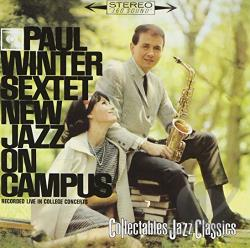 Winter, Paul - New Jazz on Campus CD Cover Art