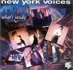 New York Voices - What's Inside CD Cover Art