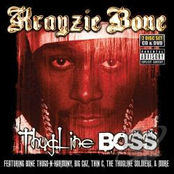 Krayzie Bone / krayzie bone - Thugline Boss CD Cover Art