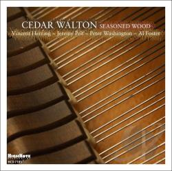 Walton, Cedar - Seasoned Wood CD Cover Art