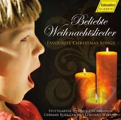 Stuttgart Hymnus Boy - Favorite Christmas Songs CD Cover Art
