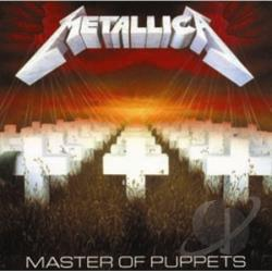 Metallica - Master Of Puppets CD Cover Art