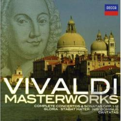 Vivaldi: Masterworks CD Cover Art