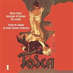 Chorus - Puccini: Tosca [1953], Volume 1 DB Cover Art