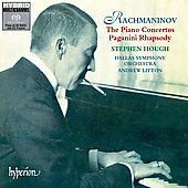 Dallas So / Hough / Litton / Rachmaninoff - Rachmaninov: The Piano Concertos, Etc / Hough, Litton, Et Al CD Cover Art