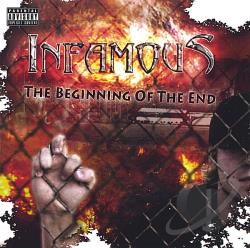 Infamous - Beginning Of The End CD Cover Art