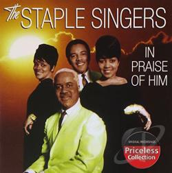 Staple Singers - In Praise of Him CD Cover Art