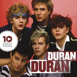 Duran Duran - 10 Great Songs CD Cover Art