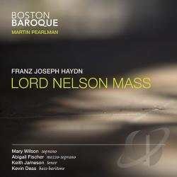 Boston Baroque / Haydn / Pearlman - Haydn: Lord Nelson Mass CD Cover Art