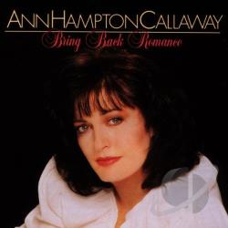Callaway, Ann Hampton - Bring Back Romance CD Cover Art