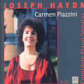 Piazzini, Carmen - Haydn: Complete Piano So CD Cover Art
