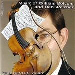 Kantor, Paul - Music of William Bolcom and Dan Welcher CD Cover Art