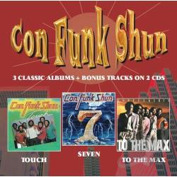 Con Funk Shun - Touch/Seven/To the Max CD Cover Art