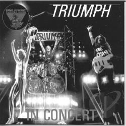 Triumph - King Biscuit Flower Hour (In Concert) CD Cover Art