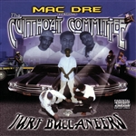 Mac Dre - Turf Buccaneers CD Cover Art