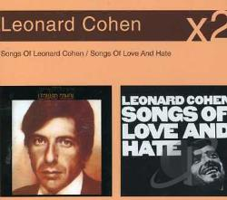 Cohen, Leonard - Songs Of Leonard Cohen/Songs Of Love A CD Cover Art