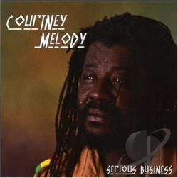 Melody, Courtney - Serious Business CD Cover Art