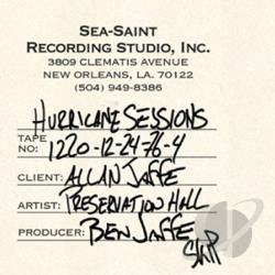 Preservation Hall Jazz Band - Hurricane Sessions CD Cover Art