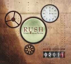 Rush - Time Machine 2011: Live in Cleveland CD Cover Art