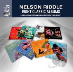 Riddle, Nelson - 8 Classic Albums CD Cover Art