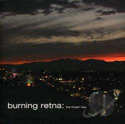 Burning Retina - Frozen Lies CD Cover Art