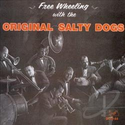 Salty Dogs - Free Wheeling CD Cover Art