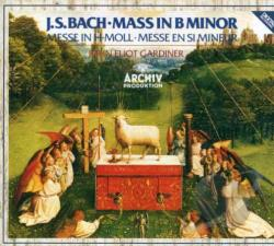 Bach, Johann Sebastian / Ebs / Gardiner - Bach: Mass in B minor CD Cover Art