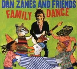 Zanes, Dan - Family Dance CD Cover Art