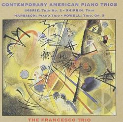 Contemporary American Piano Trios CD Cover Art