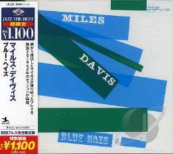 Davis, Miles - Blue Haze CD Cover Art