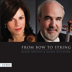 Dicterow / Dreyfus / Mozart / ST. Clair / Walton - From Bow to String CD Cover Art