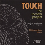 Amalong / Rorem / Sowerby - Touch: The Toccata Project CD Cover Art