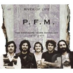 P.F.M. - River of Life: Manticore Years Anthology 1973-1977 CD Cover Art